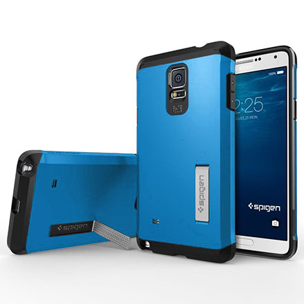 This is an image of a cellphone with a case for a link to cellphone and tablet accessories information